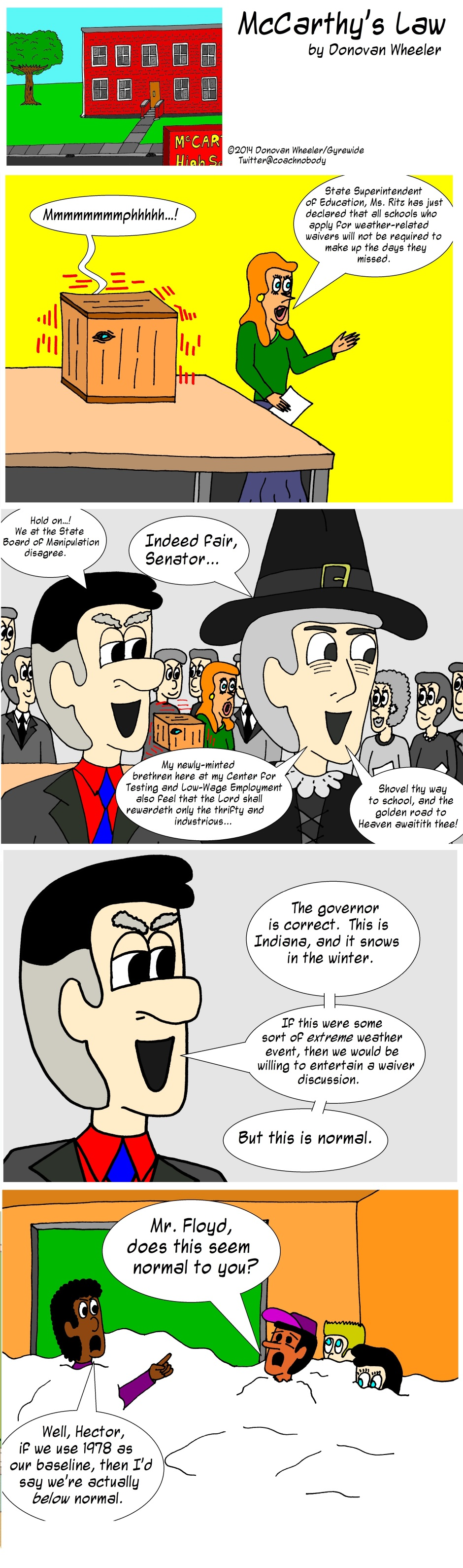 McCarthy's Law 168